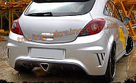 Задний бампер для Opel Corsa D 2006-2014 2014