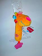 Мягкая игрушка с пищалкой Лев, фото 1