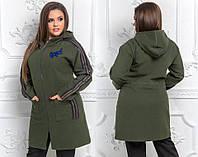 Женское пальто кашемировое в спортивном стиле (расцветки)