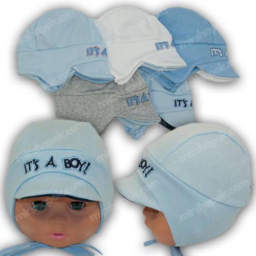 Головные уборы для новорожденных, р. 36-38, 38-40