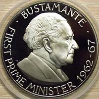 Монета Ямайки. 1 доллар 1976 г. (пруф)