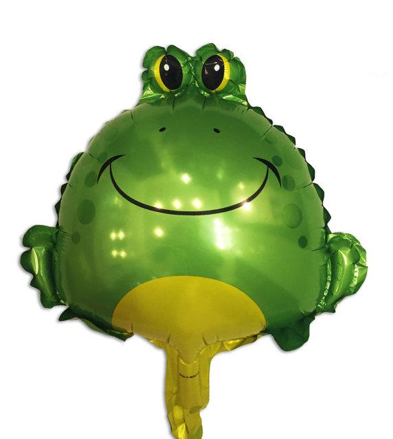 Фольгированный шар - фигура Лягушка большая 65 * 62 см