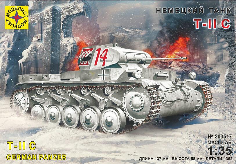 Немецкий танк Т II C. 1/35 MODELIST 303517