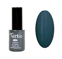 Гель лак Tertio №36, 10 мл темный серый