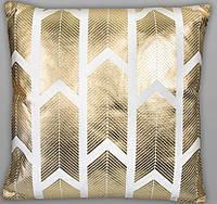 """Интерьерная подушка """"Золото"""" 45х45 см"""