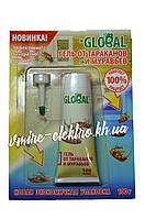 Гель от тараканов и муравьев Global (Глобал) 100 грамм