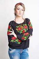 Женская вышитая блуза больших размеров  285