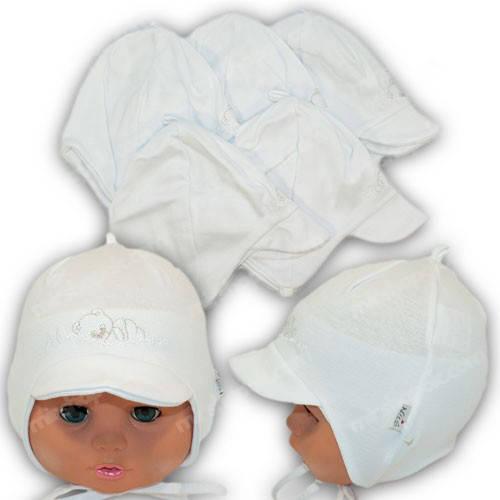 Детская шапочка для новорожденного, р. 36-38, 38-40