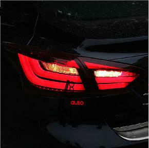 Штатная LED задняя оптика Rear Lamp 2012 по 2014 год для Ford Focus 3 Sedan, фото 2