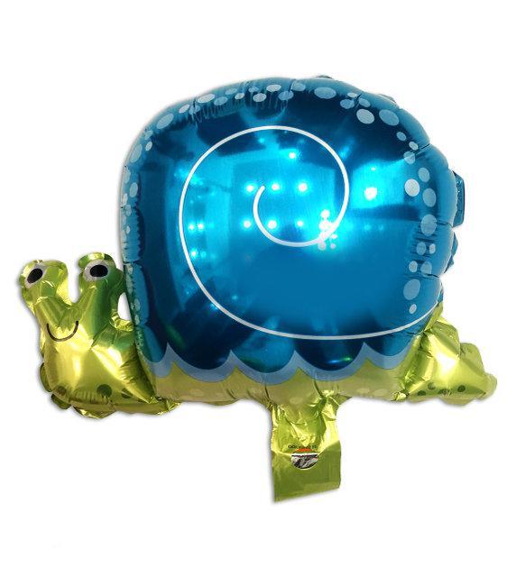 Фольгированный шар - фигура Улитка большая 62 * 48 см