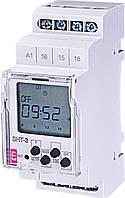 Программируемое цифровое реле SHT-3 UNI  12-240V AC/DC (1x16A_AC1), таймер недельный, таймер годовой