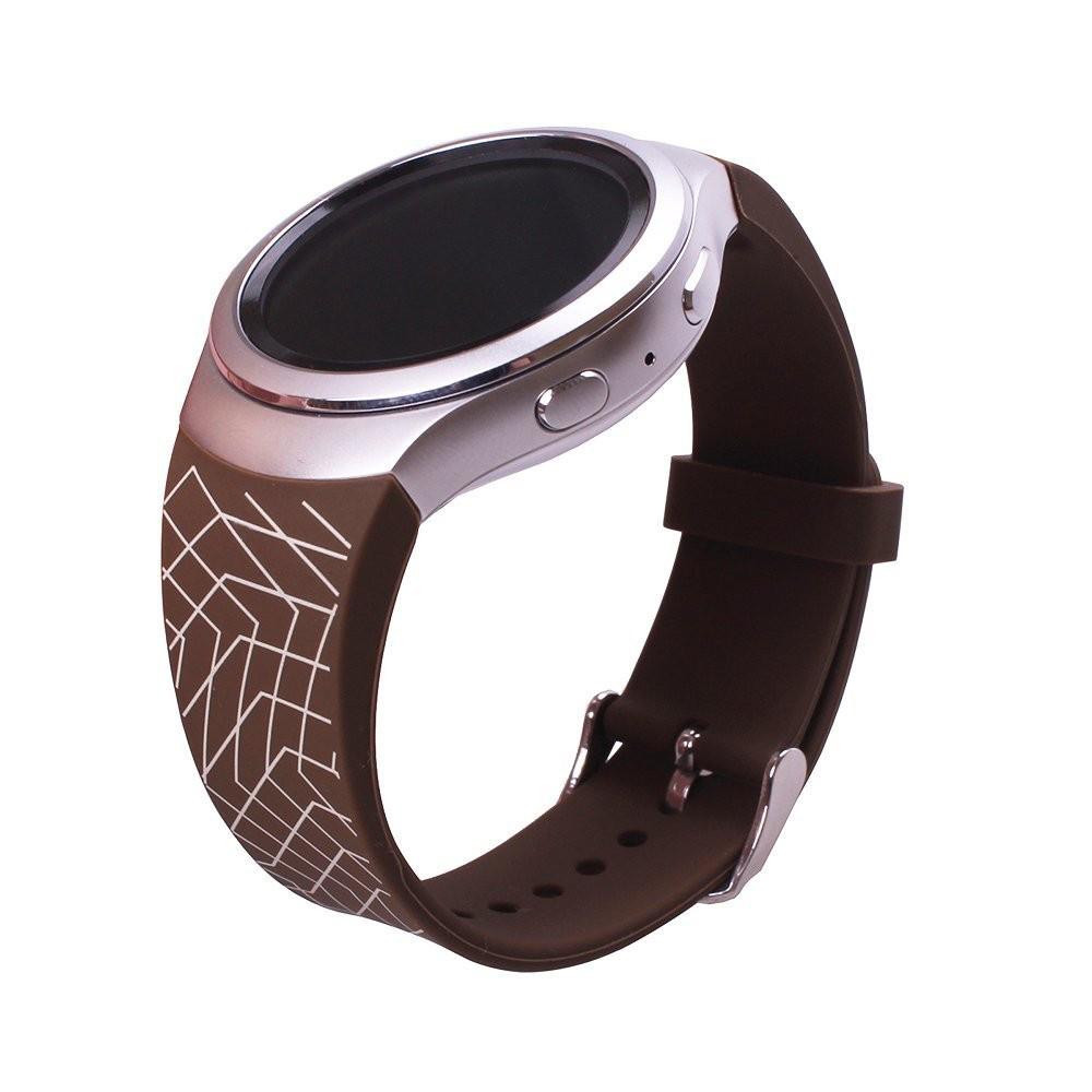 Силиконовый ремешок для Samsung Gear S2 Sports SM-R720 / SM-R730 Line