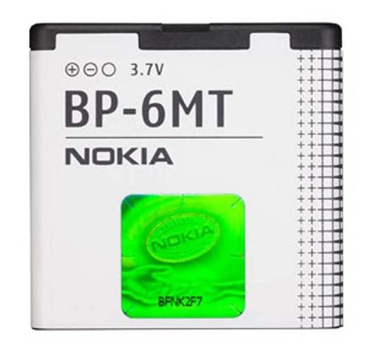 Аккумулятор батарея Nokia BP-6MT, E51, N81, N82, 6350, Mural 6750