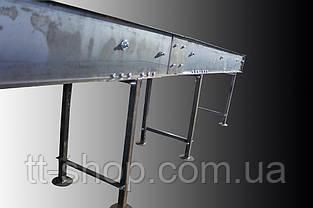 Ленточный конвейер длинной 2 м, ширина ленты 300 мм, фото 2