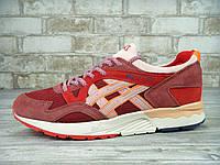 Мужские кроссовки Asics (красные), ТОП-реплика, фото 1