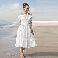 4f19fdb16c5 Платье летнее из натурального индийского хлопка IN 645 F