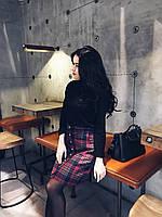Клетчастая юбка, фото 1