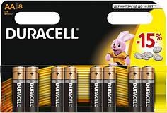 Батарейки Duracell AA, 8 шт.