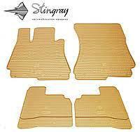 Коврики в салон Stingrey BMW 3 (F30) 12-/BMW 4 (F32) 13- (бежевые)