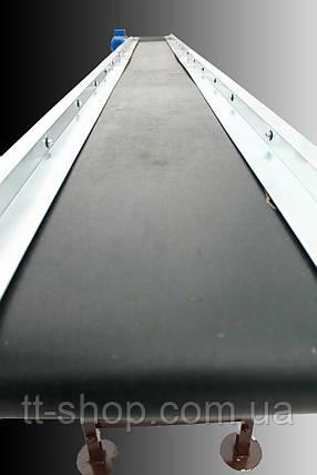Ленточный конвейер длинной 10 м, ширина ленты 300 мм, фото 2
