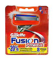 Сменные кассеты Gillette Fusion Power - 8 шт.