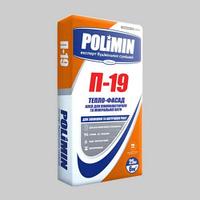 Polimin П-19 Тепло-фасад клей для пенополистирола и минеральной ваты (25кг)