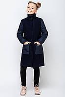 Пальто на девочку демисезонное VPD-2,134-164 р-р