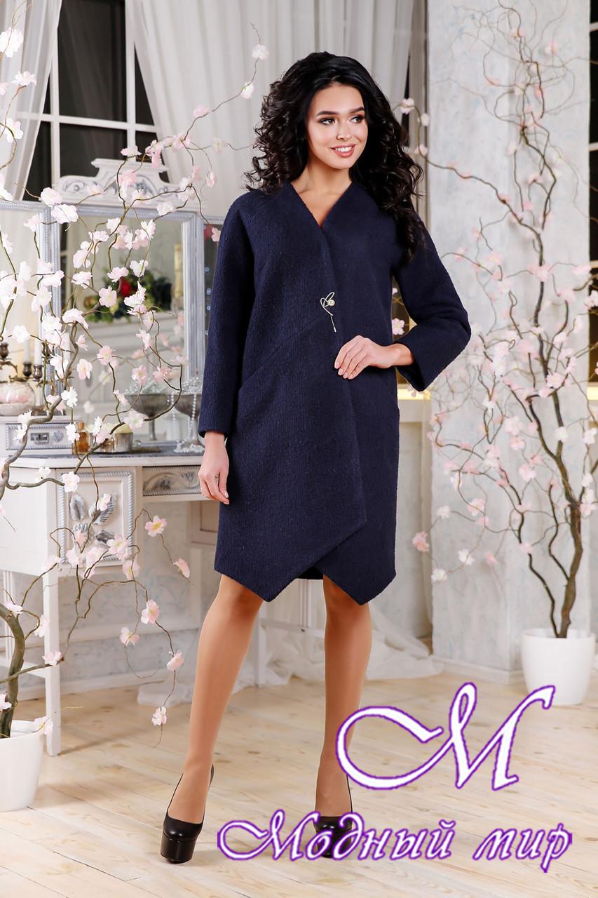 Женское свободное пальто весна-осень (р. 44-54) арт. 1115 Тон 25