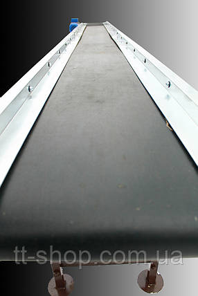Ленточный конвейер длиной 3 м, ширина ленты 400 мм, фото 2