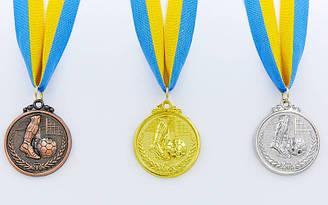 Медаль спортивная с лентой Футбол