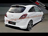 Накладка на задний бампер для Opel Corsa D 2006-2014 2014