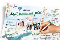 """Интерактивный постер """"Мой первый год"""" PGUA"""