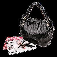 Женская сумка Realer P008 (Черная)
