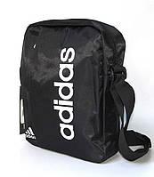 """Сумка через плечо """"Adidas 6605-1"""" (27см ) (реплика), фото 1"""