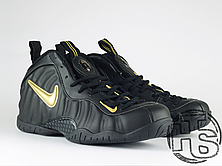 Мужские кроссовки реплика Nike Air Foamposite Pro Black/Yellow 630304-071, фото 3
