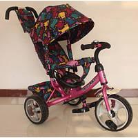 Детский трехколесный велосипед TILLY Trike T-344-5 РОЗОВЫЙ