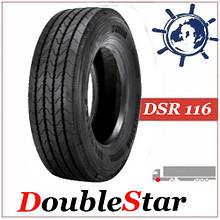 Грузовая шина 215/75R17.5 126/124L DoubleStar DSR116 Дабл Стар рулевая, купити грузовые шины на Богдан Еталон
