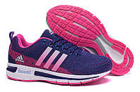 Кроссовки Adidas Questar Boost Navy Pink, фото 1
