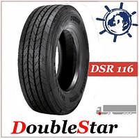 Шина 315/80R22.5 154/151M DoubleStar DSR116 рулевая, грузовые шины на рулевую ось, усиленные китайские шины