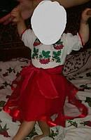 Очень красивый вышитый костюм  для девочки