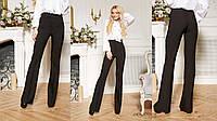 Модные и стильные базовые брюки клёш, фото 1
