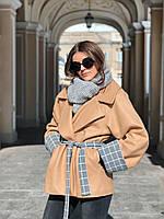 Демисезонное шерстяное пальто TOMBOY