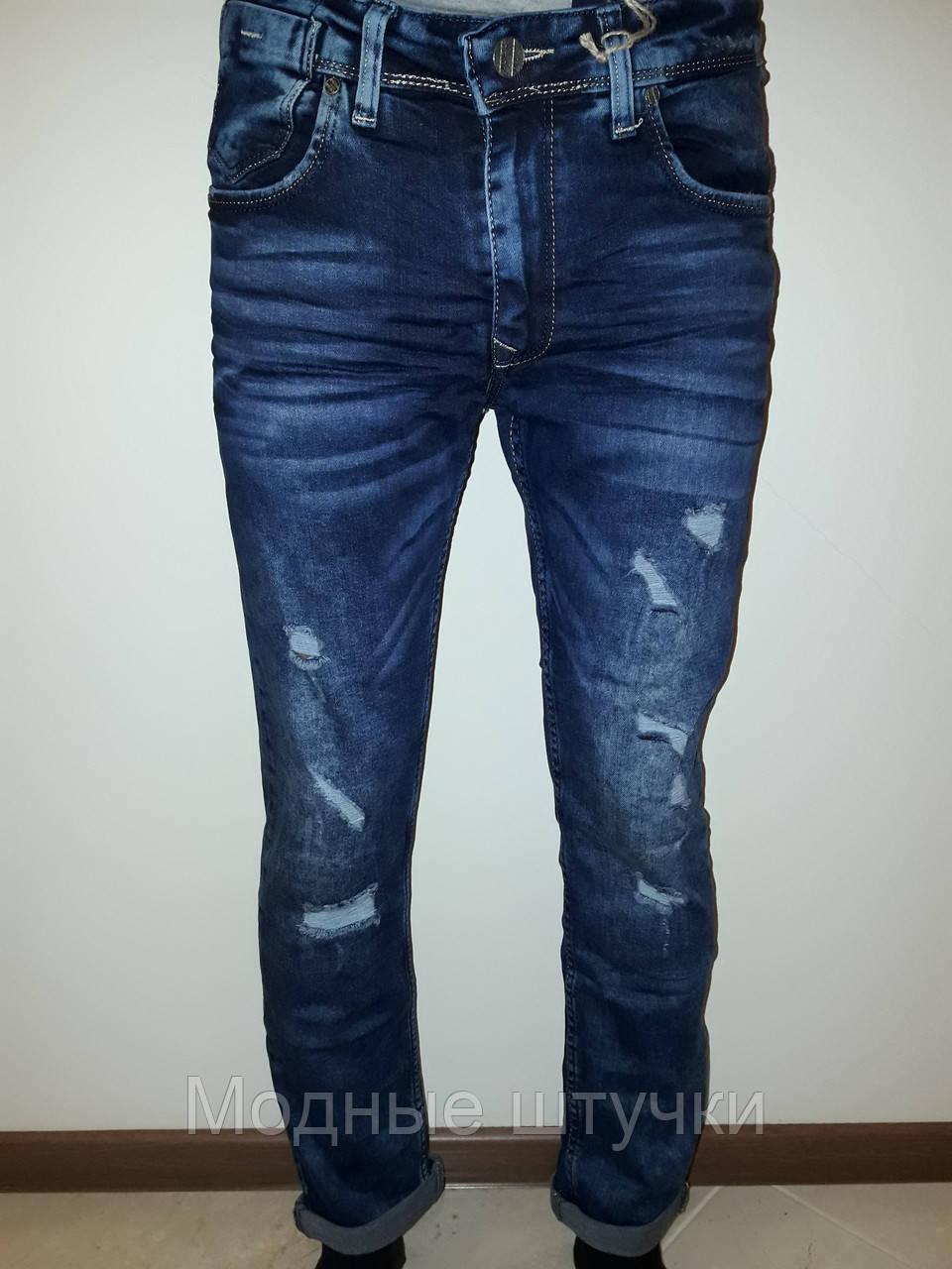3b175a45e49 Мужские джинсы рваные 3958 - Модные штучки в Николаеве