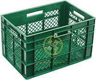 Пластиковые ящики с добавлением первичного и вторичного сырья 600x400x350