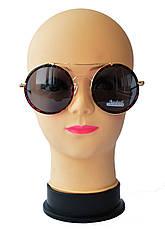 Женские солнцезащитные очки круглые, фото 2