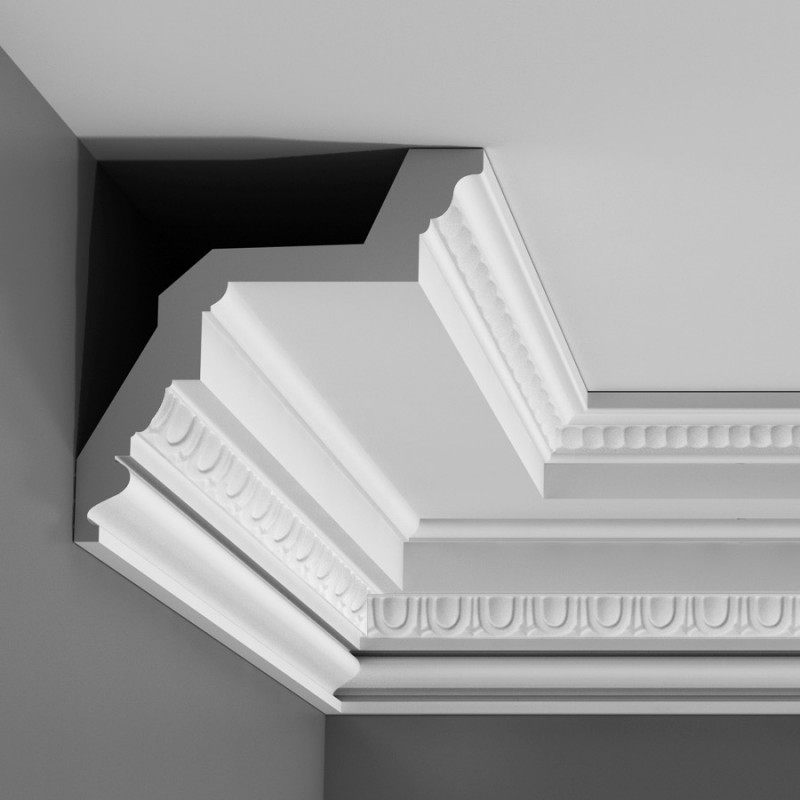 Лепнина Орак декор C307 Карниз с орнаментом Orac Luxxus