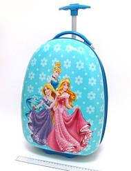 Детский чемодан дорожный на колесах «Принцессы» Princess-5