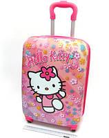 "Детский чемодан дорожный на колесах 18"" «Хелло Китти» Hello Kitty-5, 520378"