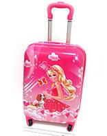 """Детский чемодан дорожный на колесах 18"""" «Барби» Вarbie 3, 520379"""