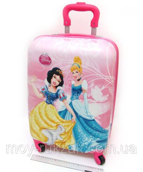 """Детский чемодан дорожный на колесах 18"""" «Принцессы» Princess-7, 520380"""